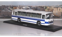 ЛАЗ 699Р бело-синий ClassicBus, масштабная модель, 1:43, 1/43