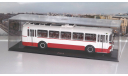 ЗИУ 5  бело-красный  ClassicBus, масштабная модель, 1:43, 1/43