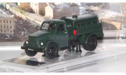 Горьковский грузовик тип МЗ-51М 1968 г. Москва, темно-зеленый  Dip