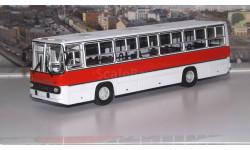 Ikarus-260 городской (красно-белый) ИКАРУС  СОВА, масштабная модель, 1:43, 1/43, Советский Автобус