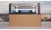 ЛАЗ 695Н  бело-голубой  ClassicBus, масштабная модель, 1:43, 1/43