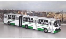 Ikarus-280.33 бело-зеленый   Икарус  СОВА, масштабная модель, 1:43, 1/43, Советский Автобус