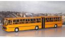 Ikarus-280.33 жёлтый   Икарус  СОВА, масштабная модель, 1:43, 1/43, Советский Автобус
