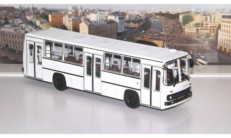 Икарус-260 планетарные двери (белый)   Икарус  СОВА, масштабная модель, Советский Автобус, Ikarus, scale43