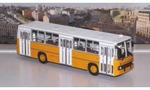 Икарус-260 (жёлто-белый)  Икарус  СОВА, масштабная модель, Советский Автобус, Ikarus, scale43