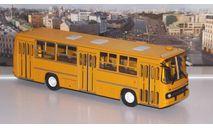 Икарус-260 (жёлтый)  Ikarus  СОВА, масштабная модель, scale43, Советский Автобус