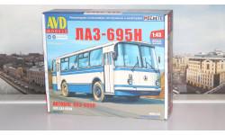 Сборная модель ЛАЗ-695Н    AVD Models KIT