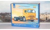 Сборная модель КАМАЗ-5460 седельный тягач  AVD Models KIT, масштабная модель, 1:43, 1/43
