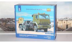 Сборная модель КАМАЗ-65225 седельный тягач  AVD Models KIT