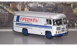 ПАЗ 3742 рефрижератор 'Продукты' СОВА, масштабная модель, 1:43, 1/43, Советский Автобус