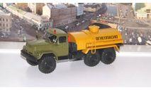 Легендарные грузовики СССР №30, АТЗ-4,4-131   MODIMIO, масштабная модель, ЗИЛ, scale43