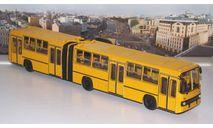 Ikarus-280.64 планетарные двери (жёлтый)   Икарус  СОВА, масштабная модель, Советский Автобус, scale43