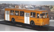 ЛиАЗ  677  с номерами и маршрутом    ClassicBus, масштабная модель, 1:43, 1/43