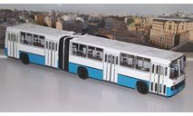 Ikarus-280 (бело-синий)   Икарус  СОВА, масштабная модель, Советский Автобус, scale43