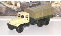 Легендарные грузовики СССР №34, КрАЗ-255Б1   MODIMIO, масштабная модель, scale43