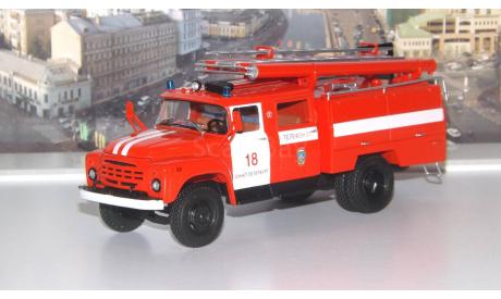 АЦ-40 (ЗИЛ 130) Санкт-Петербург   АИСТ, масштабная модель, 1:43, 1/43, Автоистория (АИСТ)