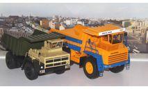 БелАЗ-7547  SSM, масштабная модель, Start Scale Models (SSM), scale43