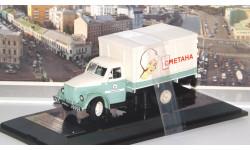 Горьковский грузовик тип АФ-51 'Сметана', бело-зеленый  Dip, масштабная модель, 1:43, 1/43, DiP Models, ГАЗ