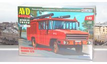 Сборная модель Пожарная автоцистерна Ikarus-526  AVD Models KIT, масштабная модель, scale43