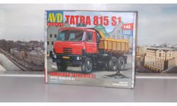 Сборная модель Tatra-815S1 самосвал   AVD Models KIT