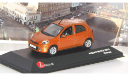Nissan Micra 2010   Orange    J-Collection