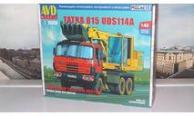 Сборная модель  ЭКСКАВАТОР UDS-114A (TATRA-815)  AVD Models KIT, масштабная модель, 1:43, 1/43