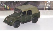 Горький 69А с тентом, темно-зеленый матовый  НАП, масштабная модель, 1:43, 1/43, Наш Автопром, ГАЗ