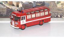 ПАЗ-672М пожарный штабной' СОВА, масштабная модель, scale43, Советский Автобус