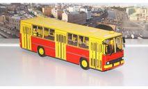 Икарус-260 (жёлто-красный)   Ikarus СОВА, масштабная модель, scale43, Советский Автобус