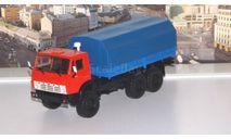 КАМАЗ-4310  с тентом  ПАО КАМАЗ, масштабная модель, scale43