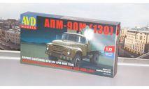 Сборная модель  Прожекторная установка АПМ-90М (130)  AVD Models KIT, масштабная модель, 1:72, 1/72, Автомобиль в деталях (by SSM), ЗИЛ