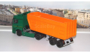 КАМАЗ-5490   ПАО КАМАЗ + Полуприцеп-щеповоз МАЗ-9506-30 АИСТ, масштабная модель, 1:43, 1/43