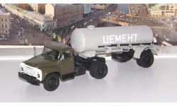 ЗИЛ-130В1 с полуприцепом ТЦ-4 АИСТ