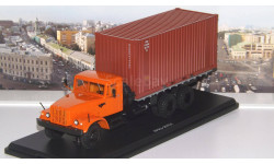 КРАЗ-257Б1 контейнер  SSM, масштабная модель, 1:43, 1/43, Start Scale Models (SSM)