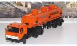 КАМАЗ-54112 с полуприцепом НЕФАЗ-96742  SSM