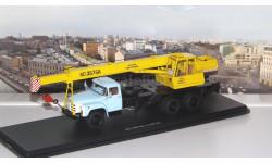 Автокран КС-3575А (133ГЯ), (желтый/голубой)   SSM