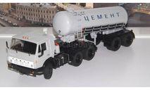 КАМАЗ-54112 с полуприцепом-цементовозом ТЦ-11   SSM, масштабная модель, 1:43, 1/43, Start Scale Models (SSM)