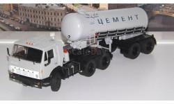 КАМАЗ-54112 с полуприцепом-цементовозом ТЦ-11   SSM