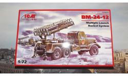 Сборная модель  ЗиЛ-157  БМ-24-12 'Катюша'  ICM