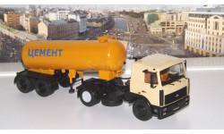 МАЗ-5432 + полуприцеп-цементовоз ТЦ-11   АИСТ