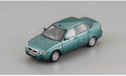 ВАЗ 2170 Седан (2015), зелено-синий мет.  DiP, масштабная модель, DiP Models, scale43