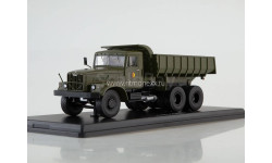 KRAZ-256B1 NVA самосвал КрАЗ-256Б1, хаки, армейский   Premium Classixxs, масштабная модель, scale43