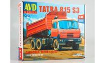 Сборная модель Tatra 815S3 самосвал   AVD Models KIT, сборная модель автомобиля, scale43