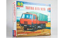 Сборная модель Tatra 815V26 бортовой  AVD Models KIT, масштабная модель, scale43
