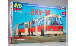 Сборная модель ЗиУ-10 (ЗиУ-683) троллейбус  AVD Models KIT