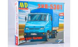 Сборная модель ЗИЛ-5301 Бычок  AVD Models KIT, масштабная модель, 1:43, 1/43