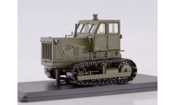 Трактор ЧТЗ-100 металлические траки (хаки)  SSM, масштабная модель, 1:43, 1/43, Start Scale Models (SSM)