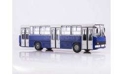 Ikarus-260 планетарные двери (серо-синий)   Икарус  СОВА, масштабная модель, Советский Автобус, scale43