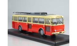 Троллейбус Skoda-9TR (красно-бежевый)  SSM