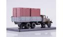 КРАЗ-257Б1 бортовой с контейнерами  SSM, масштабная модель, 1:43, 1/43, Start Scale Models (SSM)